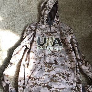 Other - Majestic USA baseball hoodie